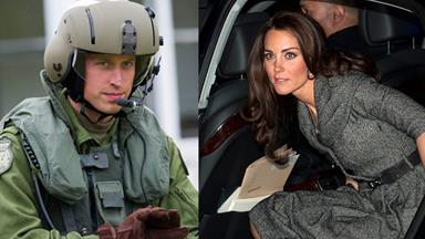 Kate and William's kidnap terror