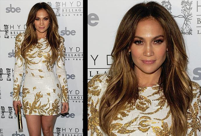 Jennifer steps out looking beautifully bronzed.