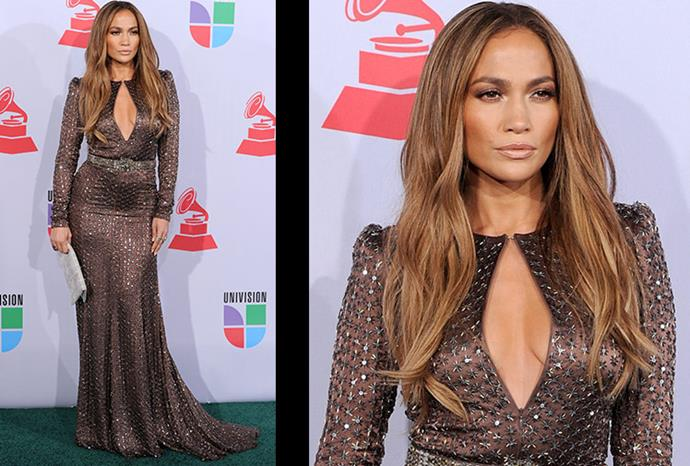 J.Lo, a L'Oreal cosmetics spokesperson, certainly knows what looks work for her.