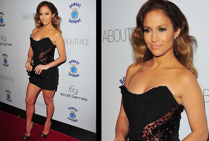J.Lo in New York in 2010.