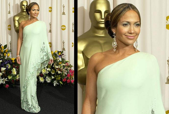 J.Lo at The 75th Annual Academy Awards.