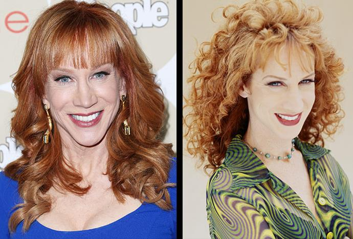 """Kathy Griffith said: """"Plastic surgery didn't help me one bit."""""""