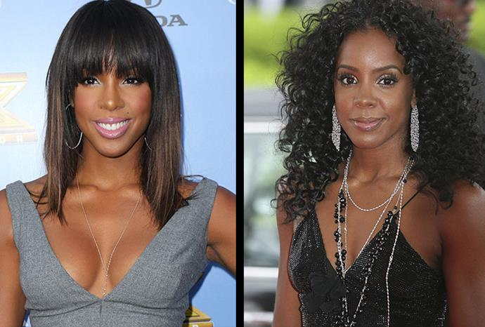 Kelly Rowland says she waited 10 years before going through with her breast enhancement.