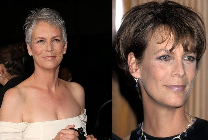 Jamie Lee Curtis, who had liposuction and botox, said 'none of if works'.