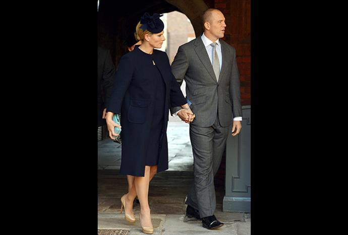 Zara Phillips was the only royal chosen to be a godparent to Prince George.