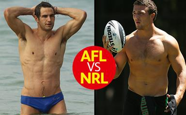 The hottest footy players: AFL VS NRL