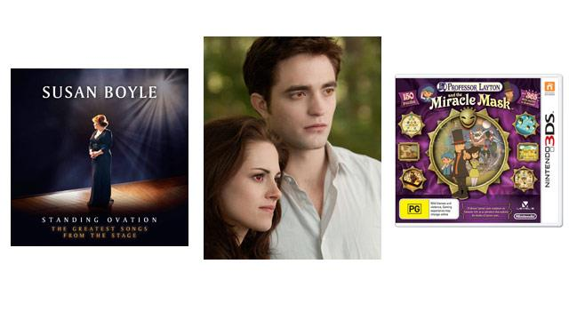 In review: The Twilight Saga, Susan Boyle and more