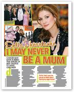 Delta's heartache: I may never be a mum