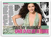 Catherine Zeta-Jones: I take my marriage one day at a time