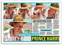 Party-hard Prince Harry