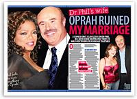 Dr Phil's wife: Oprah ruined my marriage