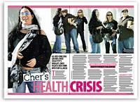 Cher's health crisis