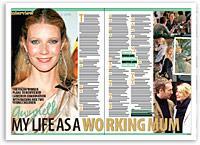 Gwyneth: My life as a working mum
