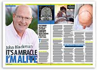John Blackman's miracle survival