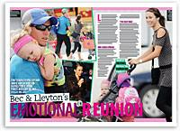 Bec and Lleyton's emotional reunion