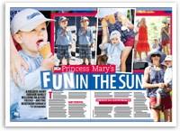 Princess Mary's fun in the sun