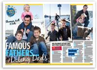 Famous fathers, doting dads...