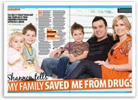 Shannon tells: 'My family saved me from drugs'