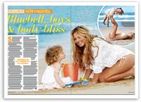 Geri Halliwell exclusive: Bluebell, boys and body bliss
