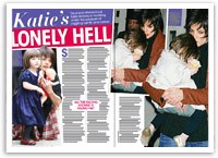 Katie Holmes's lonely hell