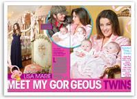 Lisa Marie Presley: Meet my gorgeous twins