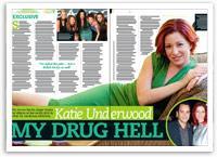 Katie Underwood exclusive: 'My drug hell'