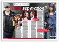 Brad and Ange's trial separation?