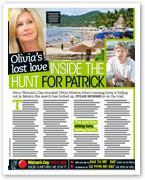 Olivia's lost love: Inside the hunt for Patrick