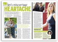 Jen's miscarriage heartache
