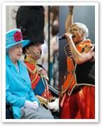 Pink blasts 'redneck' royals over bearskin hats