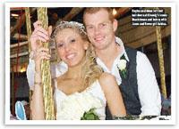 AFL Star Adam Cooney's perfect wedding