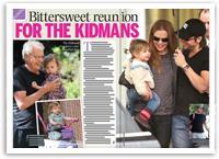Bittersweet reunion for the Kidmans