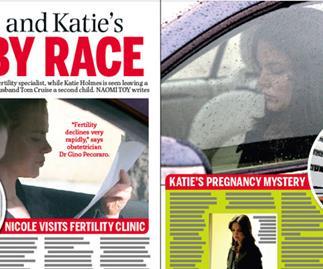 Nicole Kidman and Katie Holmes