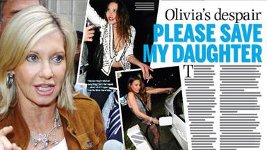 Olivia's despair: Please save my daughter