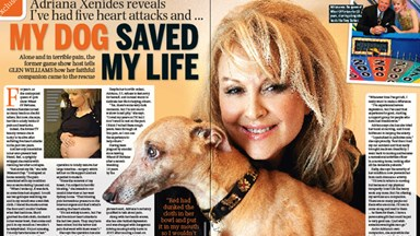 Adriana Xenides: My dog saved my life
