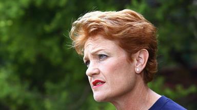Pauline Hanson says goodbye Australia