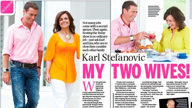 Karl Stefanovic: My two wives!