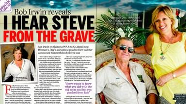 Bob Irwin reveals: I hear Steve from the grave