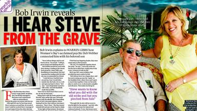 Bob Irwin reveals: I hear Steve from the grave