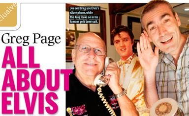 Greg Page is all about Elvis