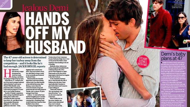 Demi Moore: Hands off my husband!