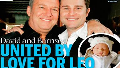 David Campbell and dad Jimmy united by baby love