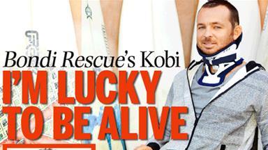 Bondi Rescue's Kobi: I'm lucky to be alive