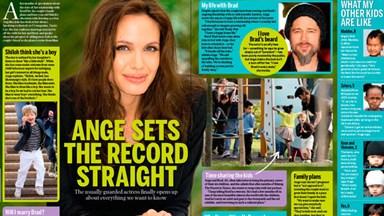 Angelina Jolie sets the record straight on Brad Pitt, Shiloh and self-harm