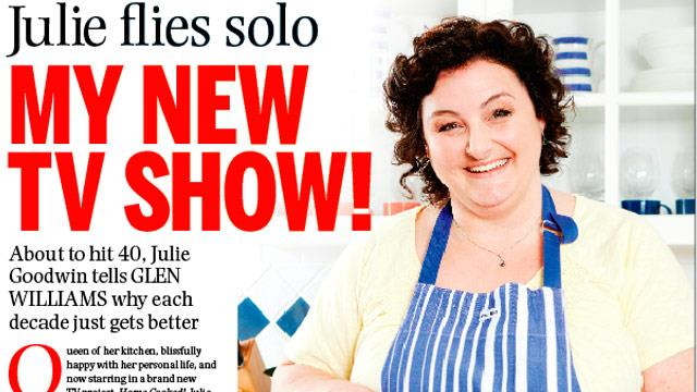 Julie Goodwin's new TV show