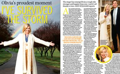 Exclusive: Olivia Newton John: I've survived the storm!