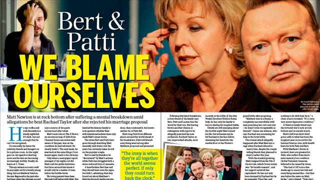 Bert and Patti Newton: We blame ourselves