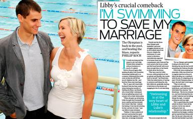 Libby Trickett: I'm swimming to save my marriage