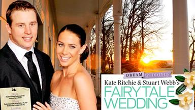 Kate Ritchie and Stewart Webb's fairytale wedding