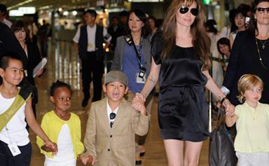 Jolie-Pitt kids start school in Hungary
